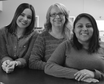 Haley Red Cloud Windsor, Laurie Layton and Lilia Garcia from Customer Service team