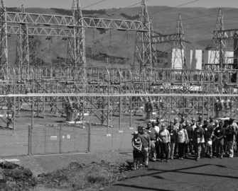 Northern Wasco County PUD and Bonneville Power Administration officials