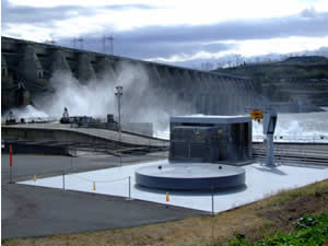 The Dalles Fishway Plant