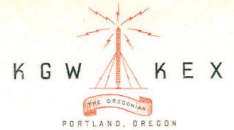 KGW KEX The Oregonian logo