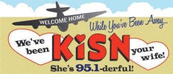 KISN radio logo