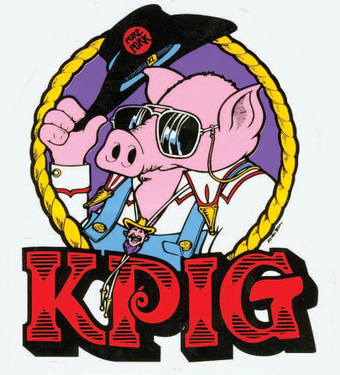 KPIG pig logo